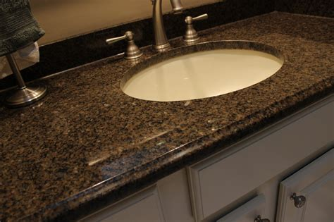 Granite Countertops For Bathroom Vanities Bathroom Vanity Medina Oh 1 Granite Countertop Traditional Vanity Tops And Side