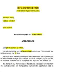 Demand Letter Registered Mail 36 Demand Letter Sles