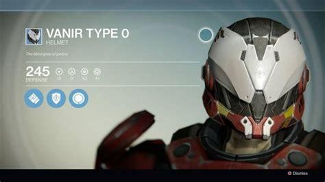 Helm Gm All Type destiny titan vanir type 0 helmet