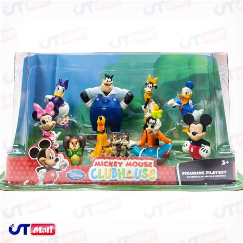 disney store mickey mouse clubhouse deluxe play set cake topper  figures  ebay