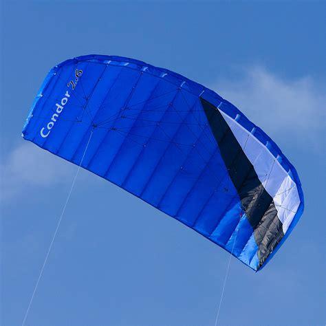 lenkdrachen matte lenkmatte mit bar qeedo condor 2 6 power kite lenkdrachen