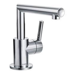 arris chrome one handle bathroom faucet s43001 moen