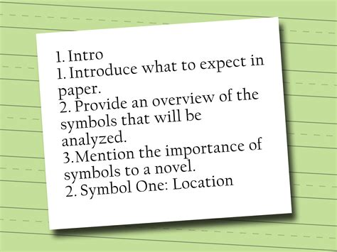 How To Make A Phlet On Paper - 3 easy ways to write an essay outline wikihow
