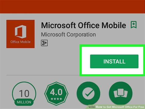 microsoft mobile office 4 ways to get microsoft office for free wikihow