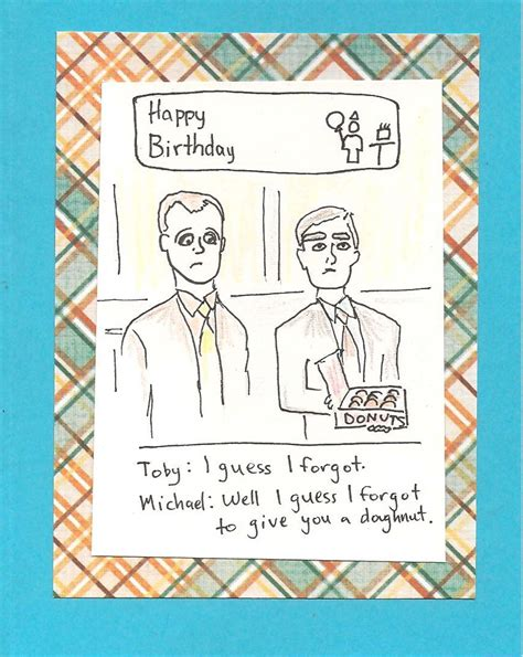 the office cards the office birthday card gangcraft net