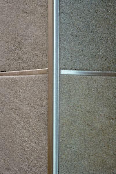 profilo piastrelle projolly square in ottone cromato profilo per