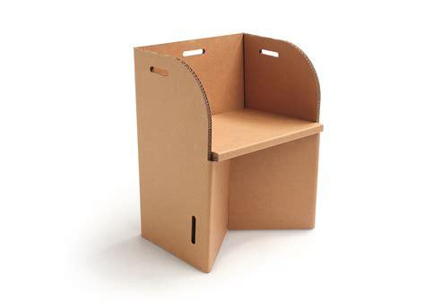 arredamenti in cartone arredamento sedia in cartone quot latola quot