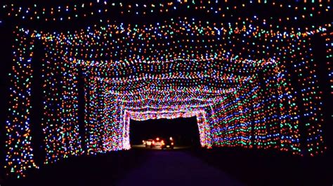 christmas lights at wickham park melbourne flchristmas