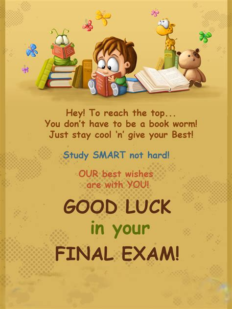 Exam wishes - Image Poetry Collection Final Exam Wishes