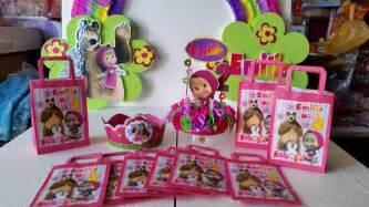 decoraciones infantiles masha y el