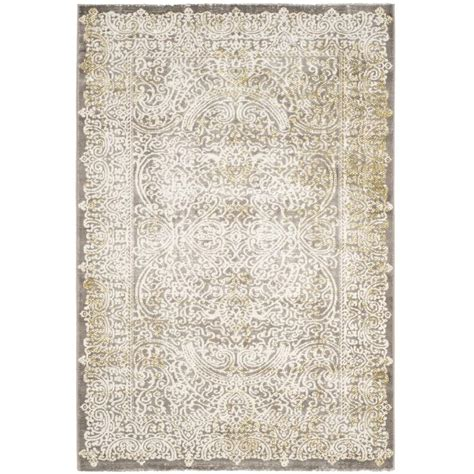 Safavieh Passion Gray Green 4 Ft X 5 Ft 7 In Area Rug Grey And Green Area Rug