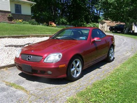 auto body repair training 2003 mercedes benz slk class windshield wipe control purchase used 2003 mercedes benz slk 320 firemist red in red lion pennsylvania united states