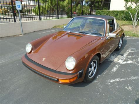 porsche targa history 1974 porsche 911 targa original interior owner history
