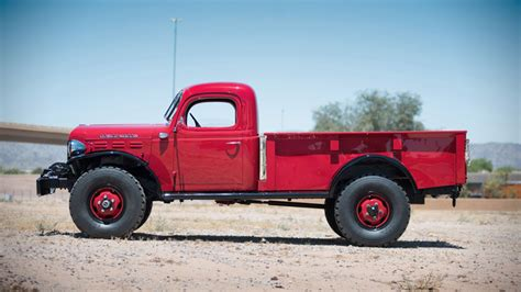 1947 dodge power wagon up for auction muted
