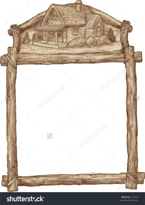 wood border wood clip wood rustic wood frame clipart 55