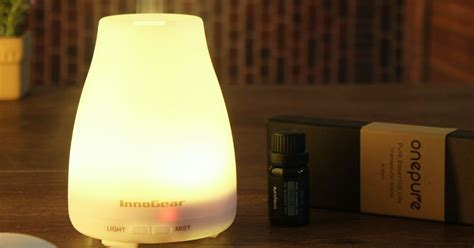 essential oil diffuser amazon amazon essential oil diffuser w led lights and six