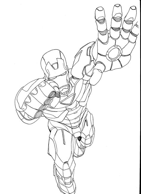 Free Printable Iron Man Coloring Pages For Kids Best Iron Colouring Pages To Print