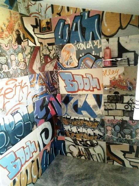 graffiti bathroom tiles street art inspired graffiti wall tiles these spanish