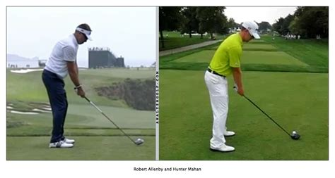 robert allenby golf swing good golf posture how to address the golf ball swing