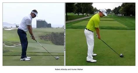 robert allenby swing good golf posture how to address the golf ball swing