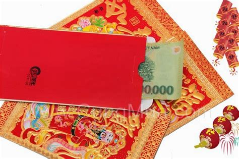 new year li xi giving lucky money during tet lunar new year li xi