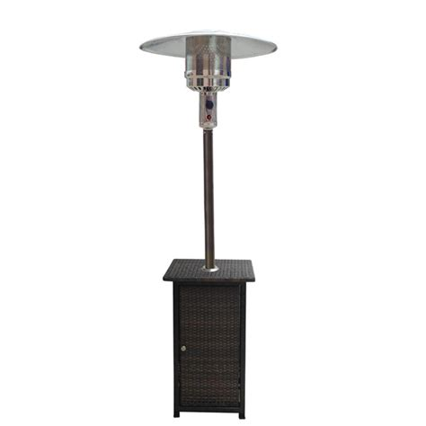 gardensun 41 000 btu propane patio heater with woven base