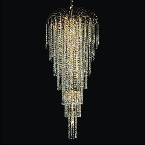 grand chandelier teardrop waterfall grand chandeliers cascade 532t glow