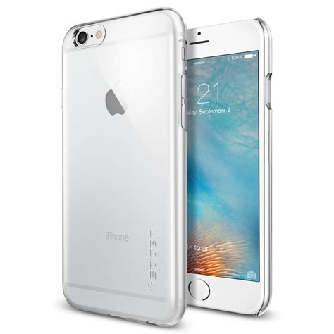 spigen iphone 6s thin fit clear mobile m