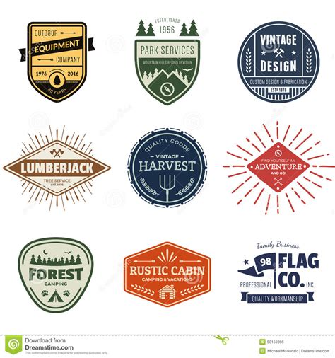label graphic design vintage badge graphics stock vector image 50159366