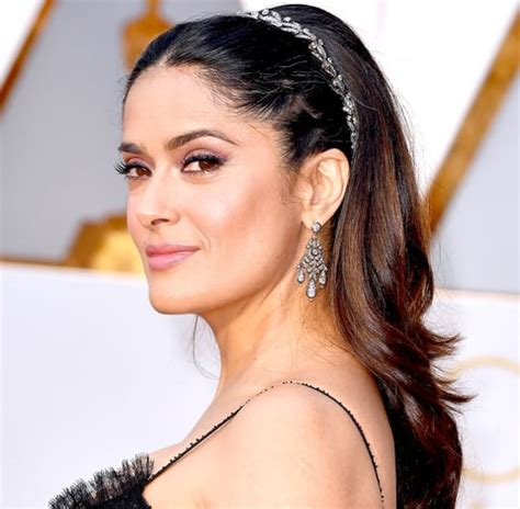 Salma Hayek Hairstyles by Salma Hayek Is Looking Gorgeous In Different Hairstyles