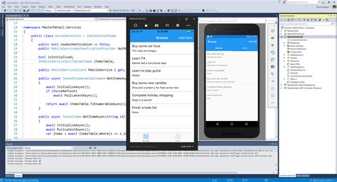 visual studio form templates better apps faster with visual studio 2017 and xamarin