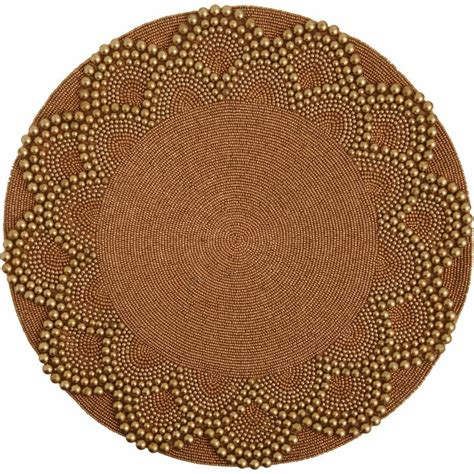 placemats beaded seybert beaded placemat