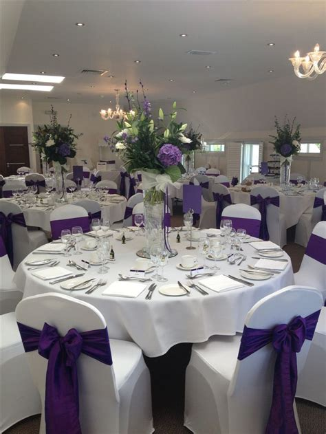 17 best ideas about purple wedding receptions on