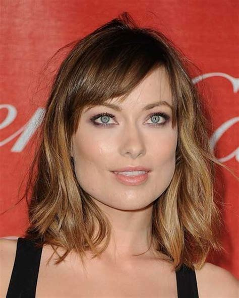 Shoulder Length Haircuts With Bangs | 20 best medium hair cuts with bangs hairstyles