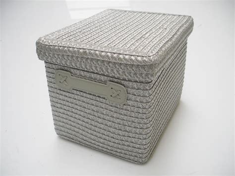 Design In Home Decoration wicker storage baskets with lids making wicker storage