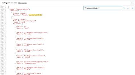 shopify template tutorial json schema tutorial phpsourcecode net