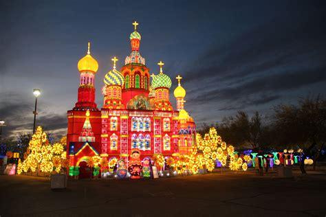 festival of lights in az lights of the lantern festival in chandler az