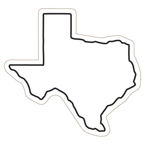 texas state coloring page clipart best