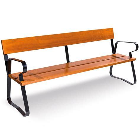 banco banco banco madera madrid mobiliario urbano para sentarse