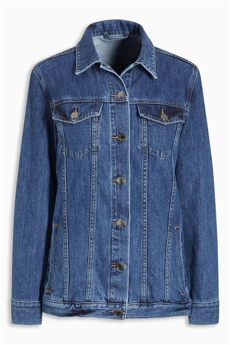Blue Oversized Denim Jacket 1 next oversized denim jacket shop ezibuy