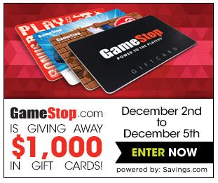 Kroger Gamestop Gift Card - enter to win 50 gamestop gift card 20 winners hip2save