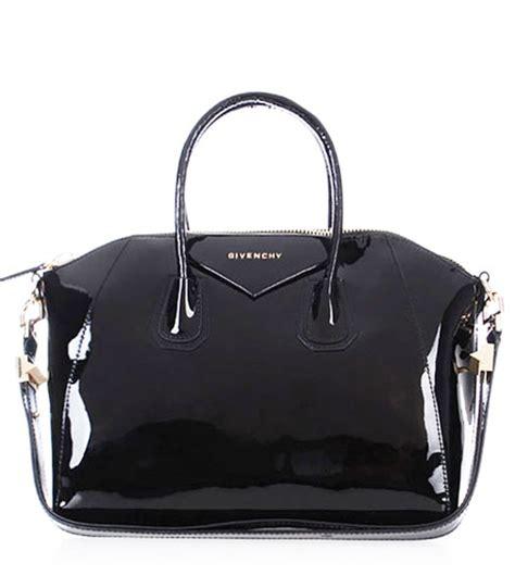 Handbag Givenchy Mirror Quality givenchy antigona patent leather bag in black replica