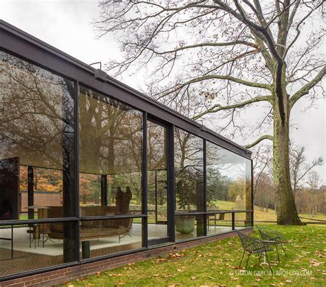 glass house glass house philip johnson sim 243 n garc 237 a arqfoto