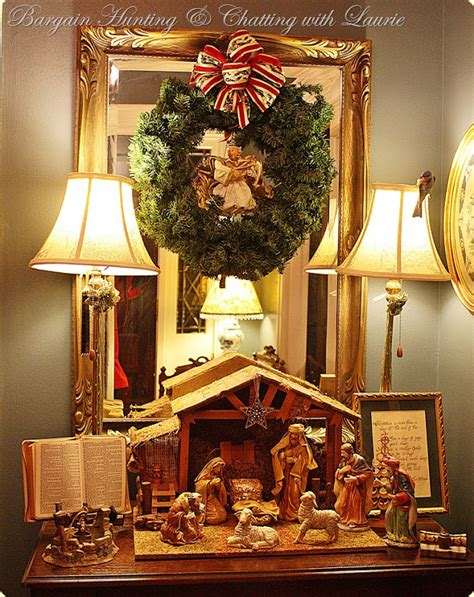 bargain decorating with laurie christmas welcome