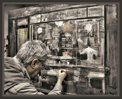 imagenes artisticas de pintores famosos ernest descals pasion por la pintura pintor arte creacion