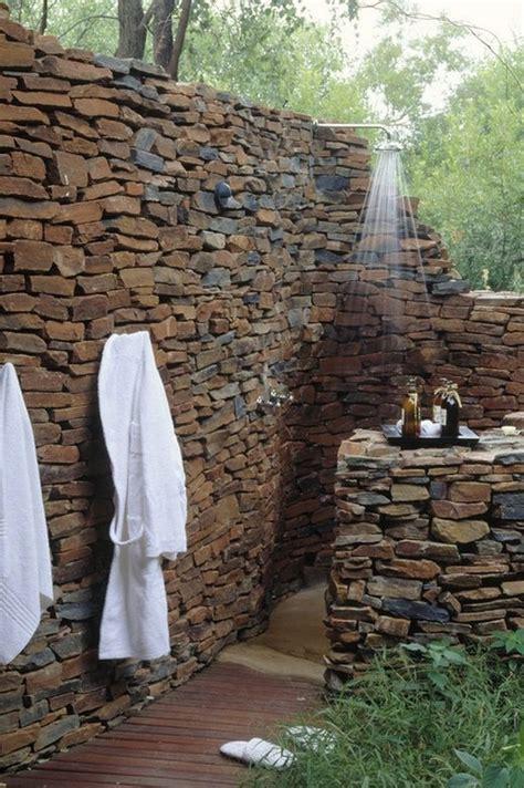 backyard shower outdoor showers the owner builder network