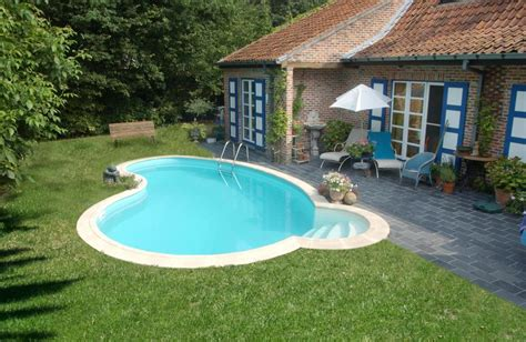 Piscine Hors Sol En Dur 3696 by Fabulous Piscine En Kit Enterrer Waterair With Piscine En