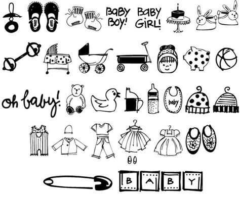 baby doodle font free bundle of 6 whimsical doodles fonts only 27 mightydeals