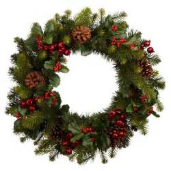 Premium red berry wreath from john lewis all rooms photo gallery
