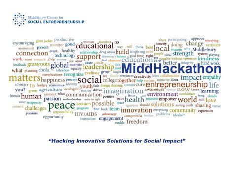 Social Entrepreneurship Mba by 2015 Middhackathon Social Entrepreneurship Programs